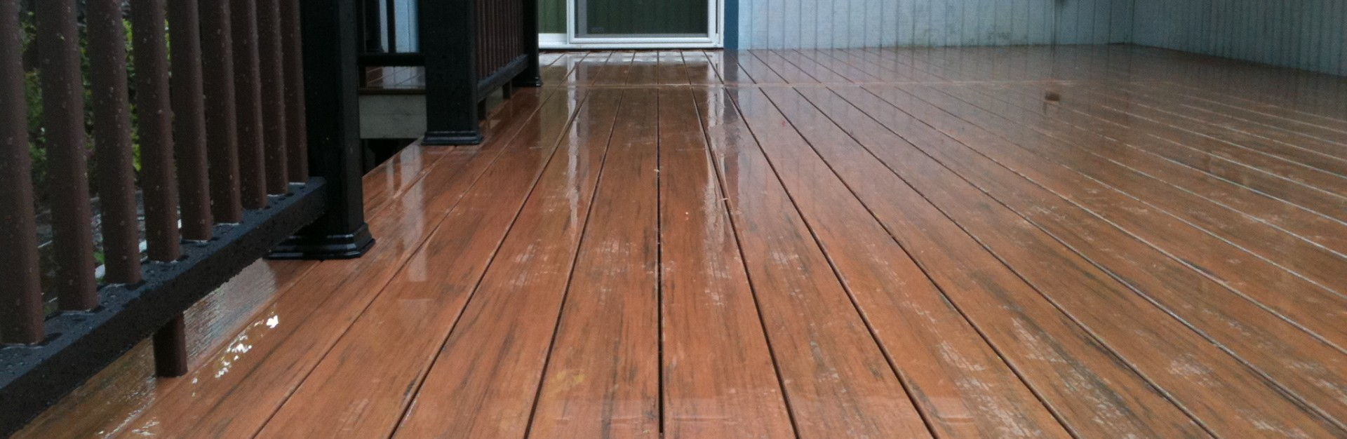 Three Rivers custom composite deck